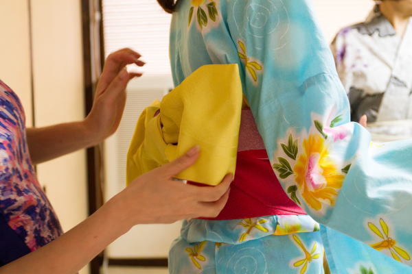 Kimono Dressing Experience<br><br>
